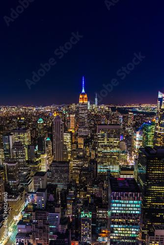 Foto op Plexiglas New York Nighttime in New York