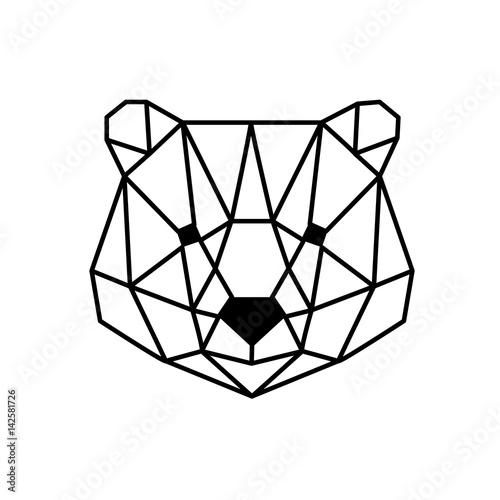 head of bear - 142581726