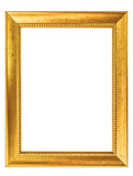 cadre rectangle doré - 142606741