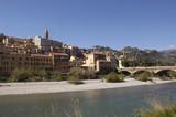 Village of Ventimiglia, Liguria, Italy