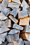 dry beech firewood background