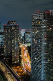 Skyscraper cityscape business district