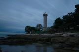 Lighthouse in the night in Savudrija / Croatia