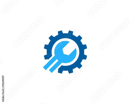 Repair Icon Logo Design Element