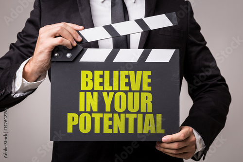 Poster Believe in Your Potential