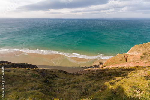 Poster Sea off Cornish coast