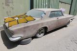 los angeles, unites states of america, 02/02/2015,1960 Buick le sabre car left in ruin needing restoration