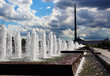 The fountain in Victory Park