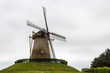 Old windmill in Wijchen town, Netherlands