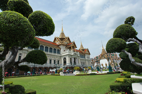 Poster the Royal palace in Thailand