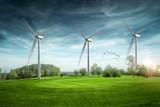 Eolienne énergie renouvelable - 142686761