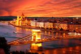 Budapest atardecer