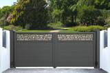Portail métallique design - 142728106