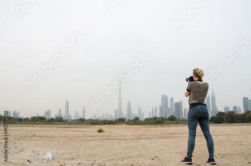 Poster Dubai Skyline