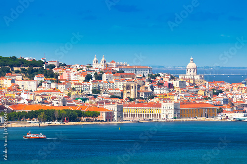 Panorama of Lisbon, Portugal Poster