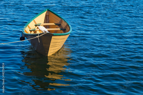 Poster Traditional Atlantic Canadian rowboat or dory