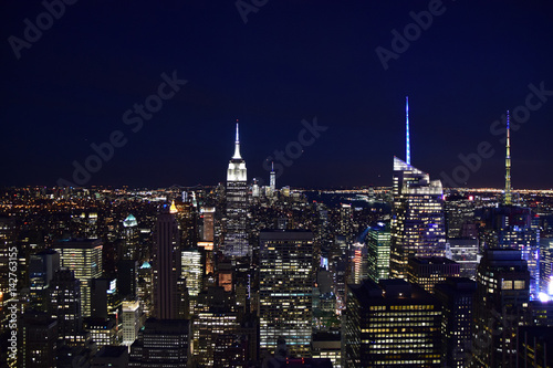 Foto op Aluminium New York New York City (Taken from Helicopter)