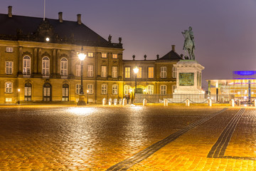 Amalienborg Cepenhagen Denmark