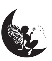 fairy with a magic wand
