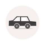 Monochrome car icon