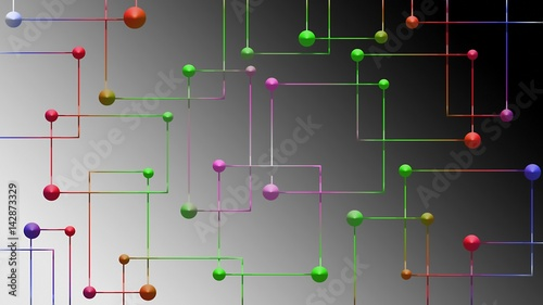 Aluminium Abstractie Grafika-abstrakcja