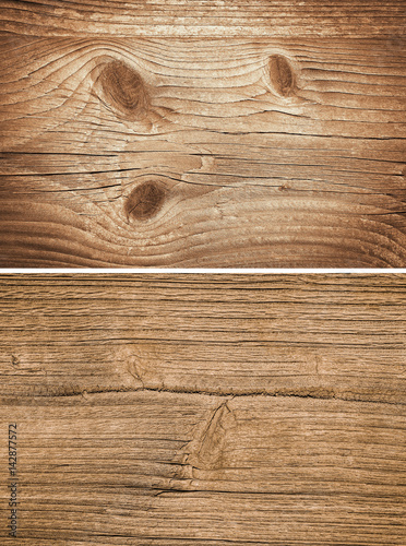 Tuinposter Hout Wood texture. Lining boards wall. set. Wooden background. pattern. Showing growth rings