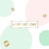 Birthday Greeting Card Design - 142878726