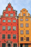 Old buildings in Stockholm
