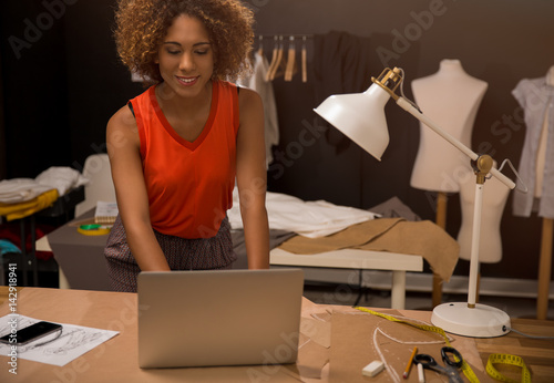 Poster Fashion designer