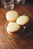 macarons on plate