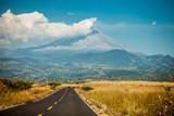 Mexican volcano landscape