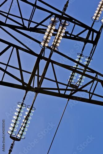 Stromleitung Poster