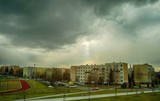 Stormy Sky over Tarnów, Poland