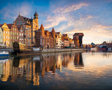 Fototapeta Miasto - Cityscape of Gdansk in Poland © Mike Mareen