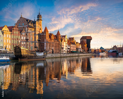 Cityscape of Gdansk in Poland - 143022934