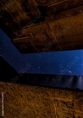 Poster Kunst unter Sternen