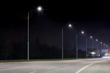 Night urban arterial road, Nitra, Slovakia - 143061978