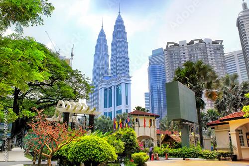 Kuala lumpur skyline, Malaysia Poster