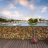 Paris from pont des arts