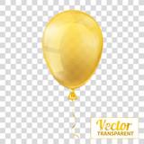 Golden Transparent Balloon - 143124161
