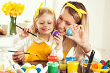 Painting Easter Eggs - 143135525