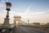 Chain Bridge On Sunset, Budapest, Hungary