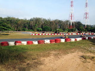 kart track competition race