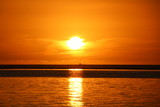 Sunset, Beach of Flic en Flac, Mauritius, Indian Ocean, Africa