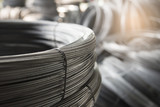 Steel wire for steel wire tie in construction site. - 143179994