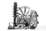 Zubehör fürs Auto. Autoteile, Ersatzteile Fahrzeugteile wie Bremsscheibe, Wasserpumpe, Scheinwerfer, Stoßdämpfer, Keilriemen ...
