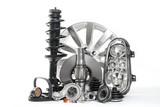 Autoteile, Ersatzteile Zubehör fürs Auto. Fahrzeugteile wie Bremsscheibe, Wasserpumpe, Scheinwerfer, Stoßdämpfer, Keilriemen ...