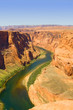 Colorado river. Horse shoe bend