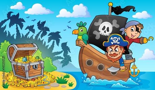 Pirate boat theme 2