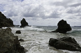 Beautiful New Zealand. Coromandel Rocks - 143256705